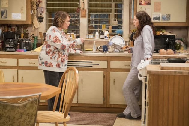 Roseanne And Harris - Roseanne Season 10 Episode 3