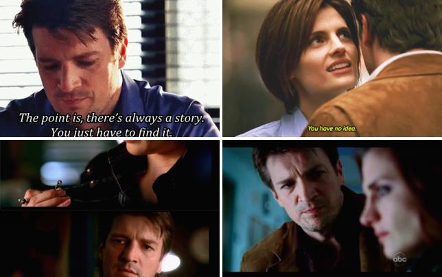 Theres always a story castle season 1 episode 1