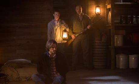 Hovering over Sam - Supernatural Season 12 Episode 4