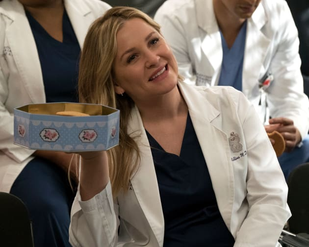 Arizona the Pusher - Grey's Anatomy Season 14 Episode 20
