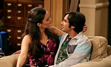 Raj and Abby Get Close