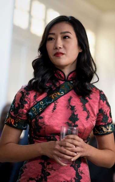 Nicky at the wedding - Kung Fu Season 1 Episode 1