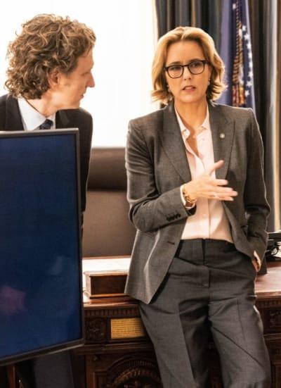 Meeting with M Sec - Madam Secretary Season 5 Episode 14