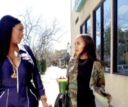 Cristen and Aja Hate One Another - Basketball Wives Season 6 Episode 6