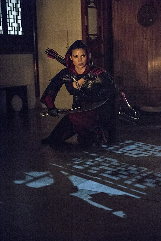Crouching Nyssa - Arrow Season 3 Episode 4