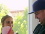 Rob Kardashian and Fake Baby - Rob & Chyna