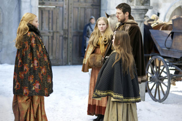 Greer Greets a Family