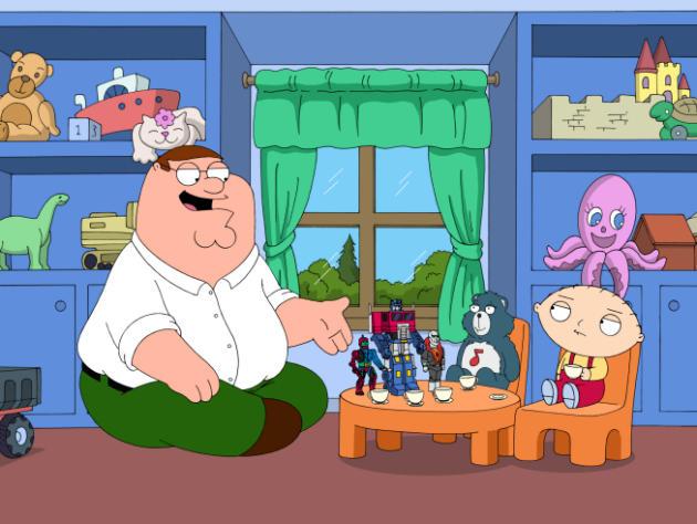 Stewie's Tea Party