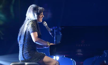 Jena Irene at the Piano