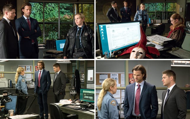 A call for help from sheriff donna supernatural season 11 episod