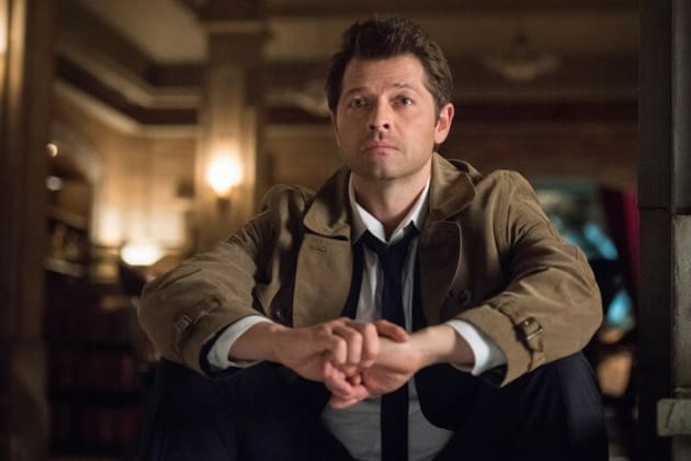 Castiel Is Unsure - Supernatural Season 13 Episode 23