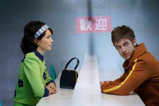 David and Amy Have a Visit - Legion Season 1 Episode 1
