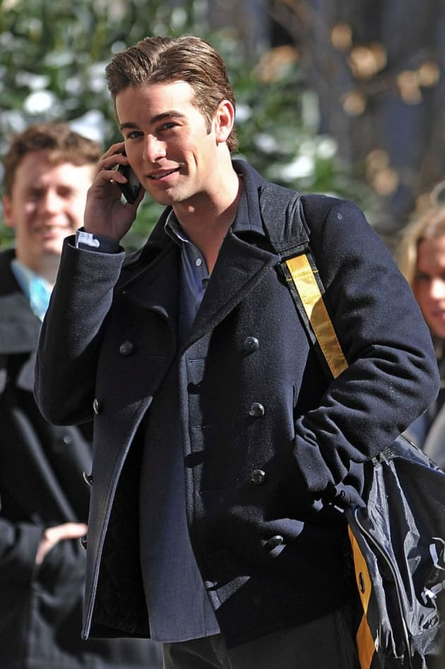 gossip girl photos from the set  february 2010