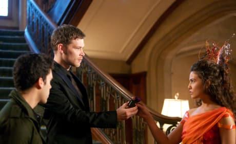 Klaus and Davina