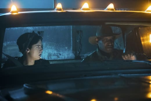Creepy Driver - Riverdale Season 2 Episode 7