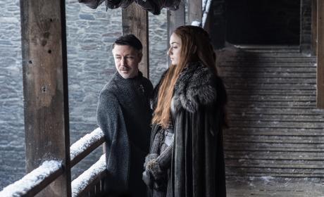Littlefinger and Sansa - Game of Thrones