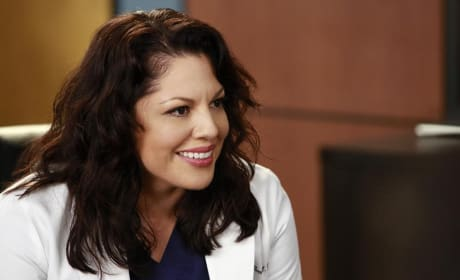 Smiling Callie - Grey's Anatomy Season 11 Episode 10