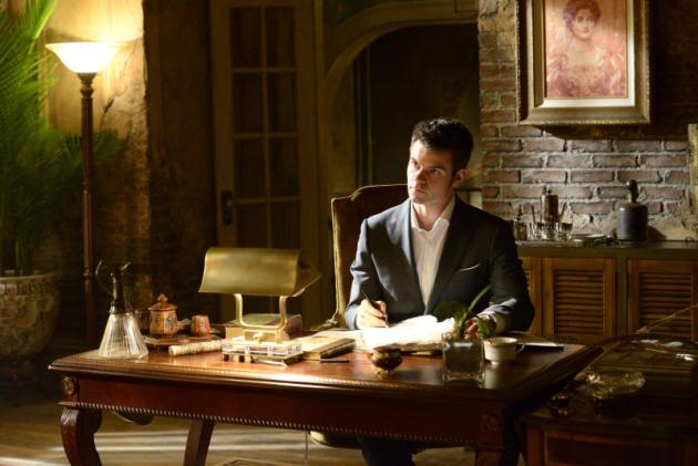Elijah at His Desk
