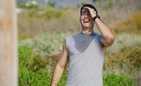 Sweaty Ben - Revenge Season 4 Episode 15
