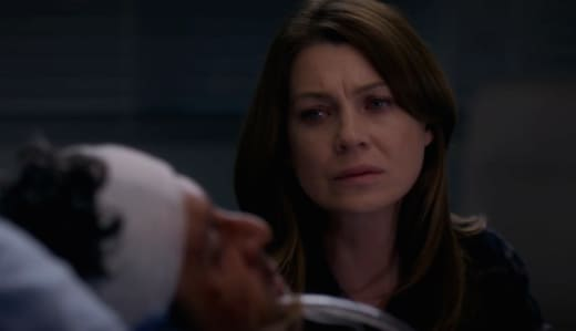 Derek? Derek?!? - Grey's Anatomy Season 11 Episode 21
