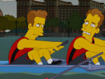 Armie Hammer on The Simpsons