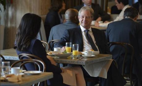 Cyrus Meets a Friend for Breakfast - Scandal Season 4 Episode 3