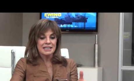 Linda Gray Set Interview