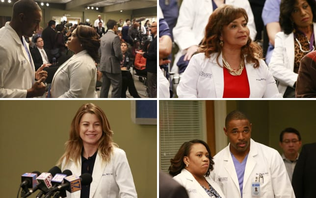 Work wife greys anatomy s13e21