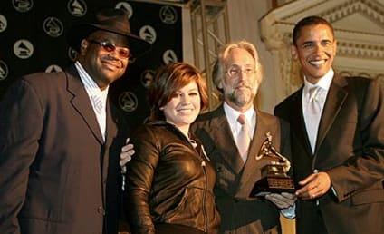 Kelly Clarkson, Barack Obama ... Barack Obama, Kelly Clarkson