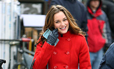 Leighton in Red