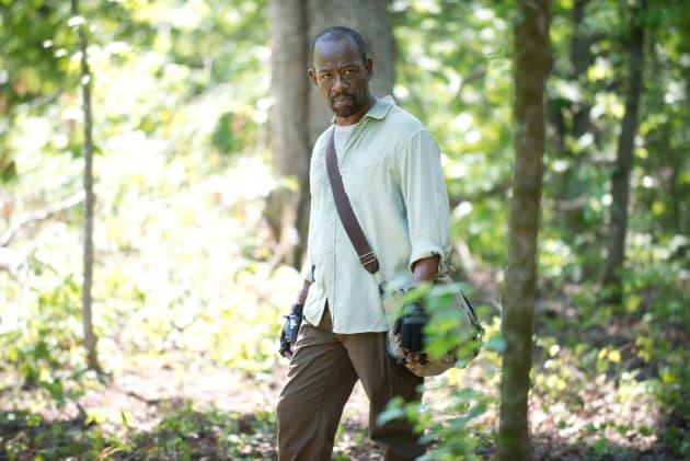 Into the woods - The Walking Dead Season 6 Episode 1