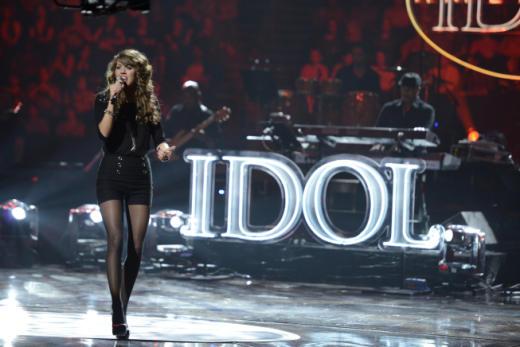 Angela Miller on American Idol
