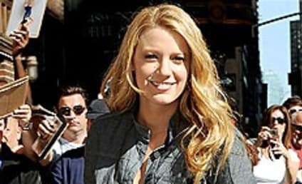 Blake: Lively and Lovely For Letterman