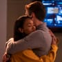 WestAllen Embrace - The Flash Season 5 Episode 8