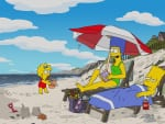 Beach Vacation - The Simpsons