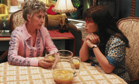 Betty and Aunt Mirta Drink