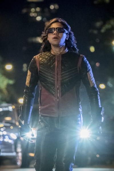 Not Feeling A Good Vibe - The Flash Season 4 Episode 1