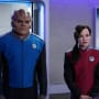 Keyali and Bortus - The Orville Season 2 Episode 7