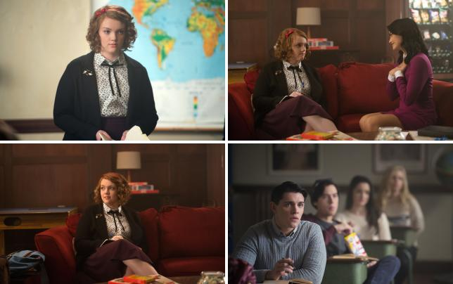 Ethel returns riverdale s1e9