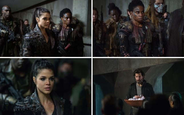 Octavia and indra the 100 season 4 episode 12