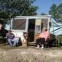 June and Sugar Bear Camping