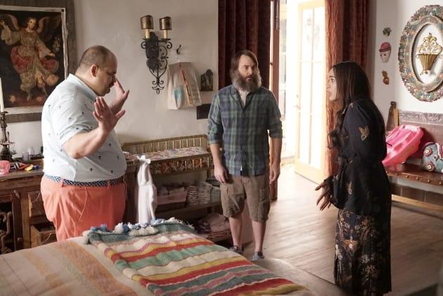 snooping through Erica's stuff - The Last Man on Earth Season 4 Episode 14