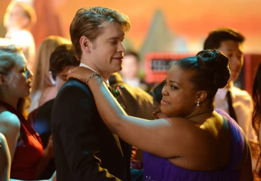 Sam and Mercedes at the Prom