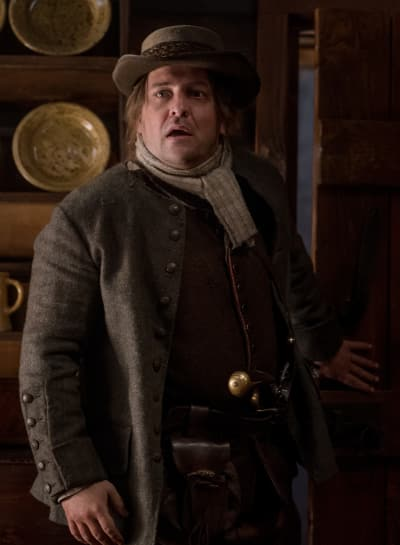Disgruntled German - Outlander Season 4 Episode 5