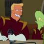 Zapp Brannigan on Futurama