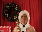 Schmidt as Santa
