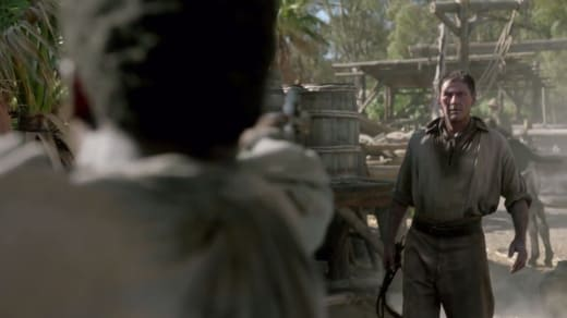 The Gun is Mightier Than the Whip - Black Sails Season 4 Episode 4