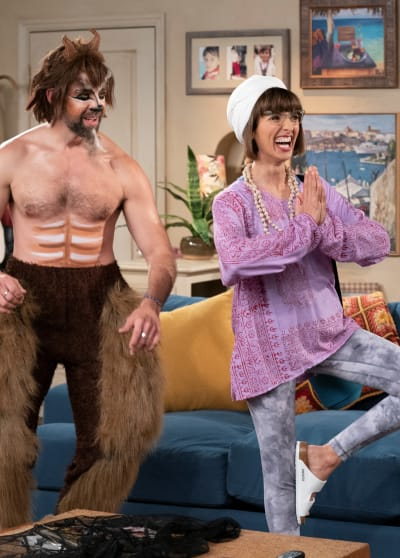Avery as Yoga - One Day At A Time Season 4 Episode 4