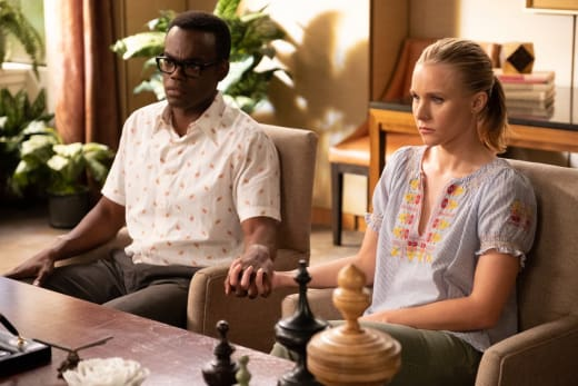 Love Conquers All - The Good Place Season 3 Episode 8