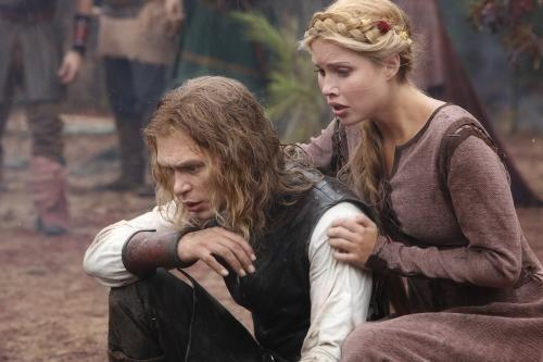 Old School Klaus and Rebekah